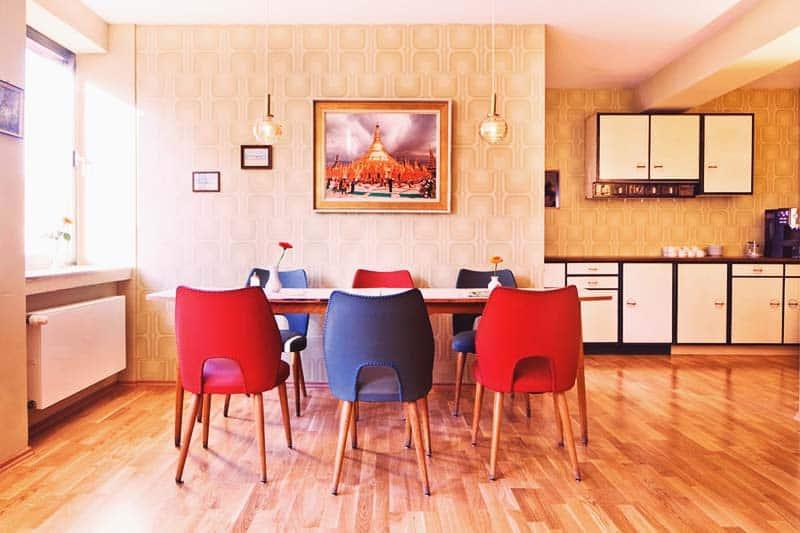 Hostel Die Wohngemeinschaft dining area