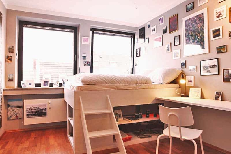 Hostel Die Wohngemeinschaft's photo studio themed room