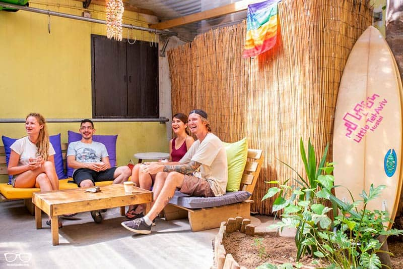 Little Tel-Aviv Hostel is one of the best party hostels in Tel Aviv, Israel