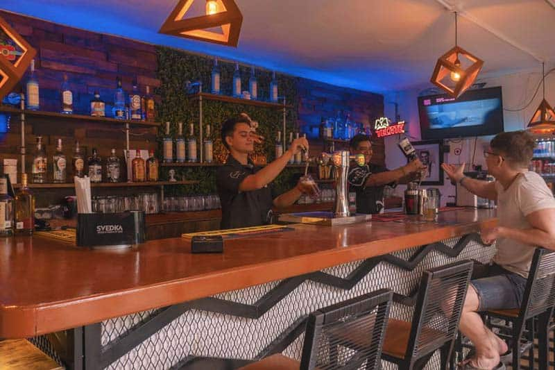 Mezcal Hotel and Hostel bar where you can drink until your drop