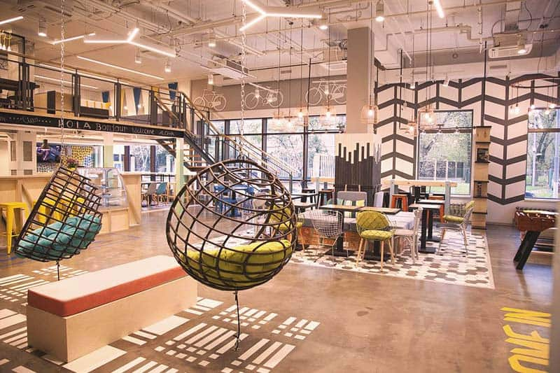 Netizen Hostel offers a very modern and artistic ambiance for guests