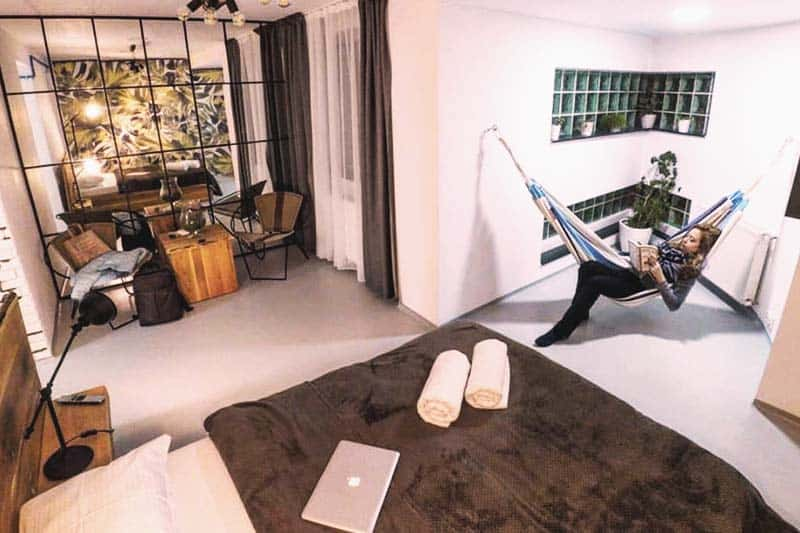Get your own personal room at Omega House