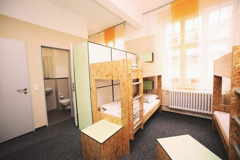 Great room space at Pathpoint Cologne - Backpacker Hostel