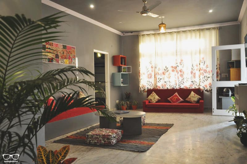 Pink Elephant is one of the best hostels in Jaipur for solo travellers