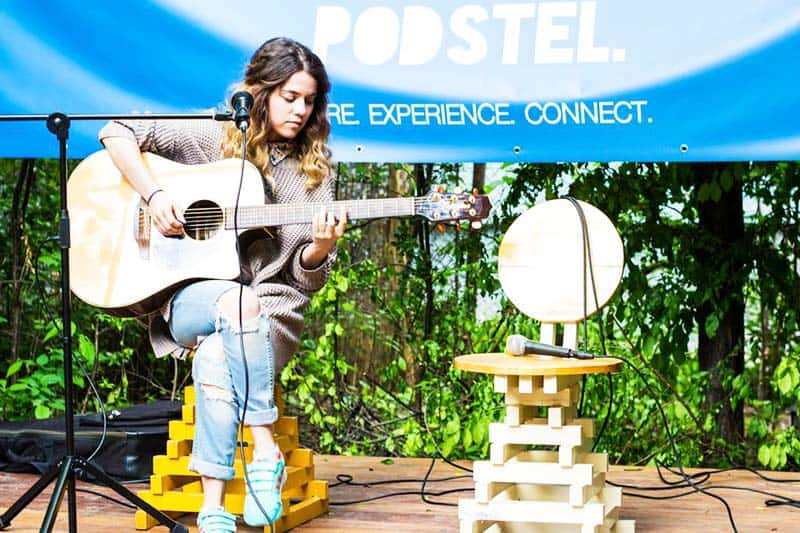 Own the stage and share your greatest talent at Podstel Bucharest