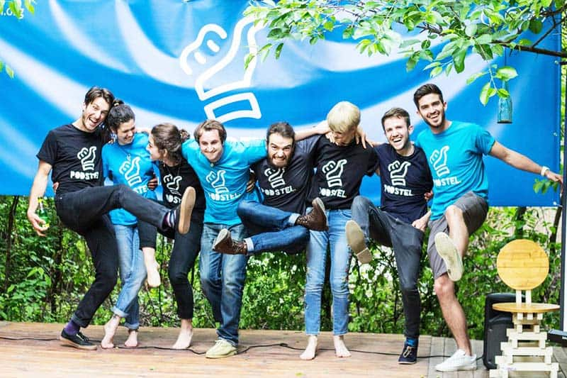 Meet the very friendly team of Podstel Bucharest