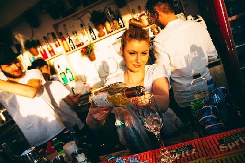 Prepare to party at Pura Vida Sky Bar & Hostel