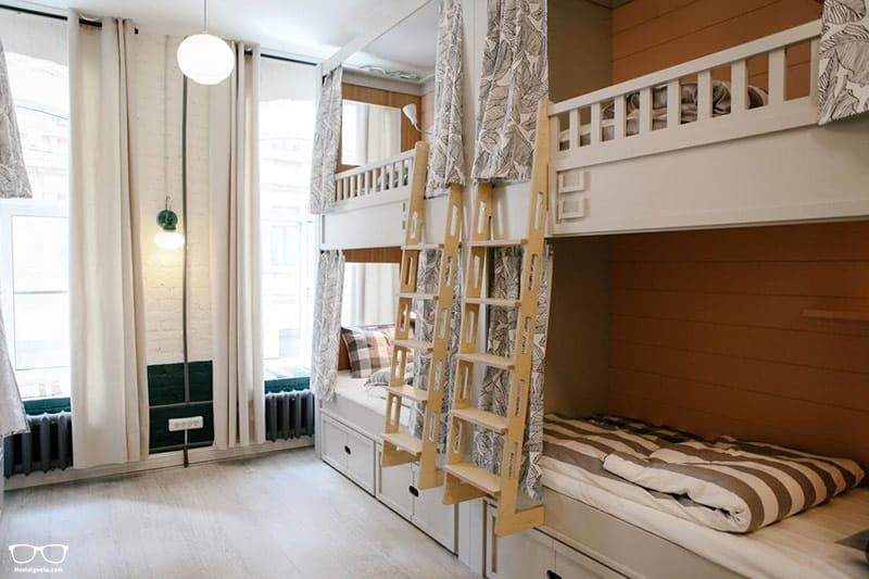 Soul Kitchen is one of the best hostels in St Petersburg, Russia