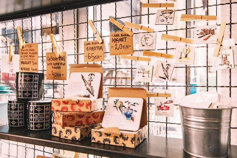 Buy affordable souvenirs at Swanky Mint Hostel Boutique