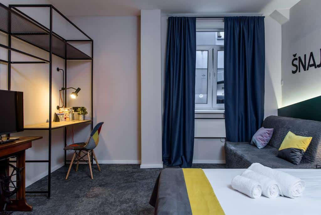 Spacious private rooms at Swanky Mint Hostel