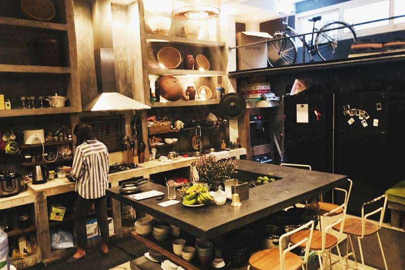 Prepare your own meals at The Common Room Project kitchen