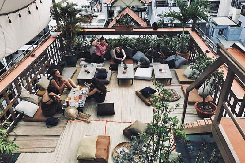 Relax and lay back at The Common Room Project