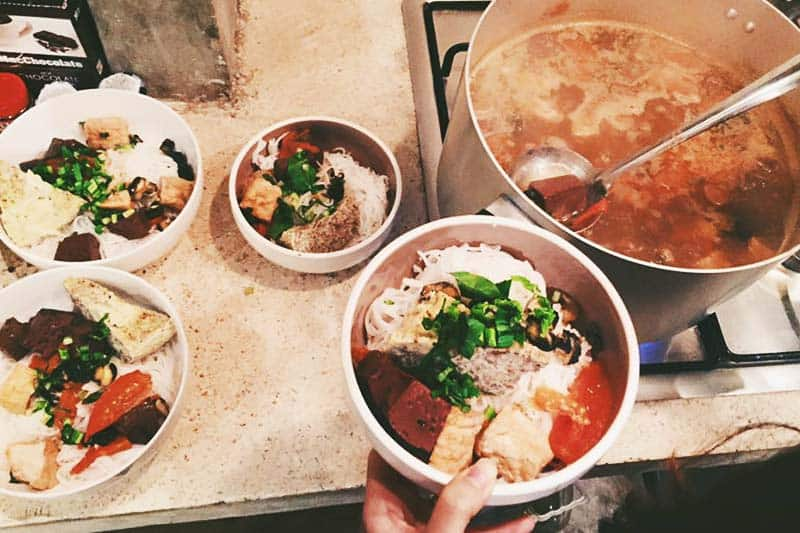 Try Vietnamese food at The Common Room Project