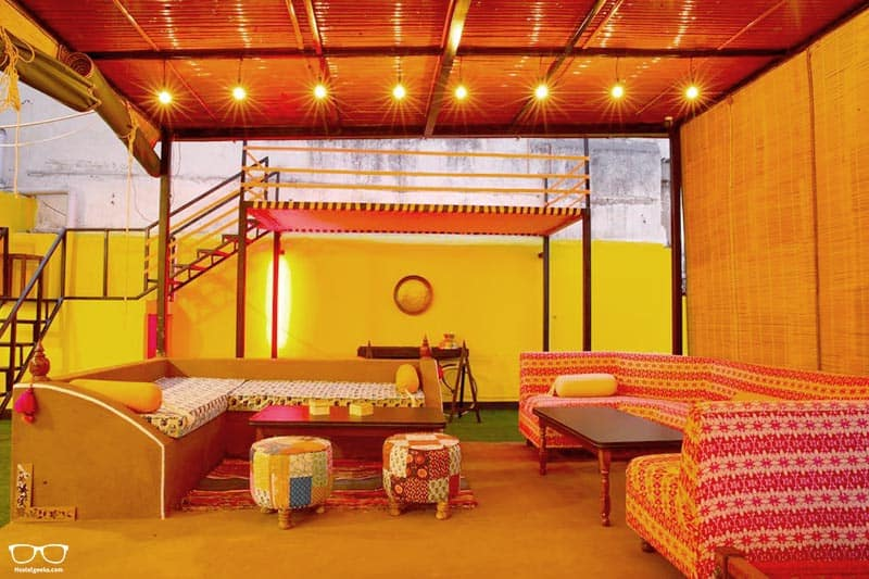 The Hosteller Jaipur is one of the best hostels in Jaipur, India
