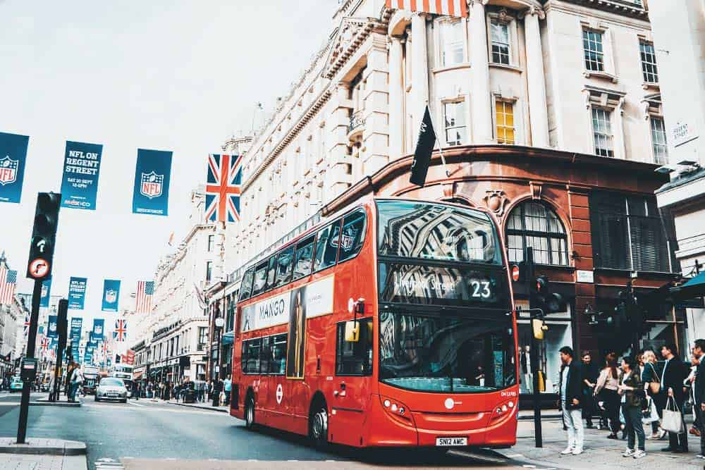 Take the bus in London