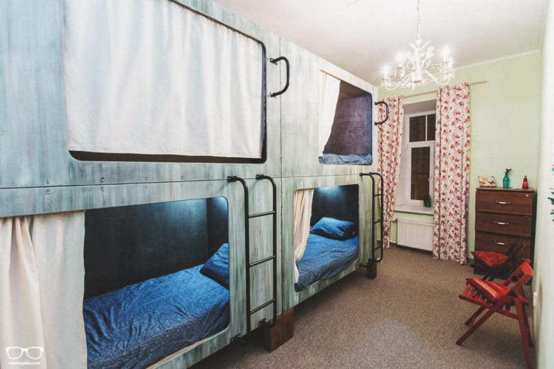 Vintage & Funky Sport Hostel is one of the best hostels in St Petersburg, Russia