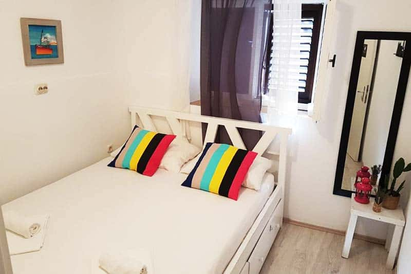 Your own private room at White Rabbit Hostel