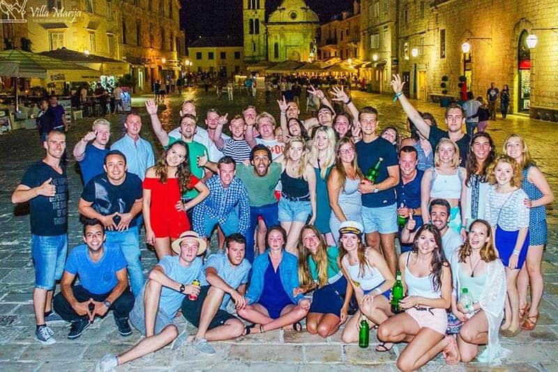 Win new friends at Youth Hostel Villa Marija