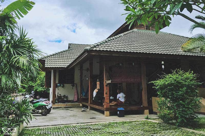 Baan Mai Sak is one of the coolest hostels in Pai, Thailand