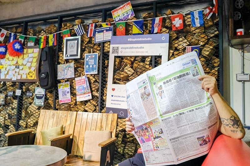 Backpackers Hostel in Taipei - the WOW Poshtel