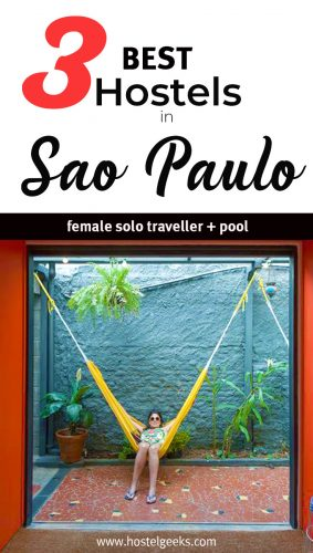 The complete guide and overview to the Best Hostels in Sao Paulo, Brazil for solo travellers