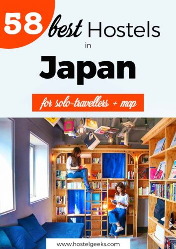 Best Hostels in Japan - a full backpacking Japan guide
