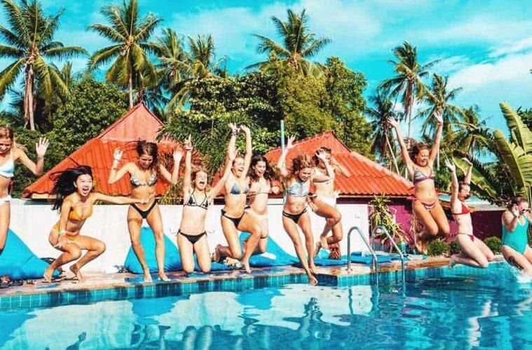 3 Best Hostels in Koh Phangan, Thailand