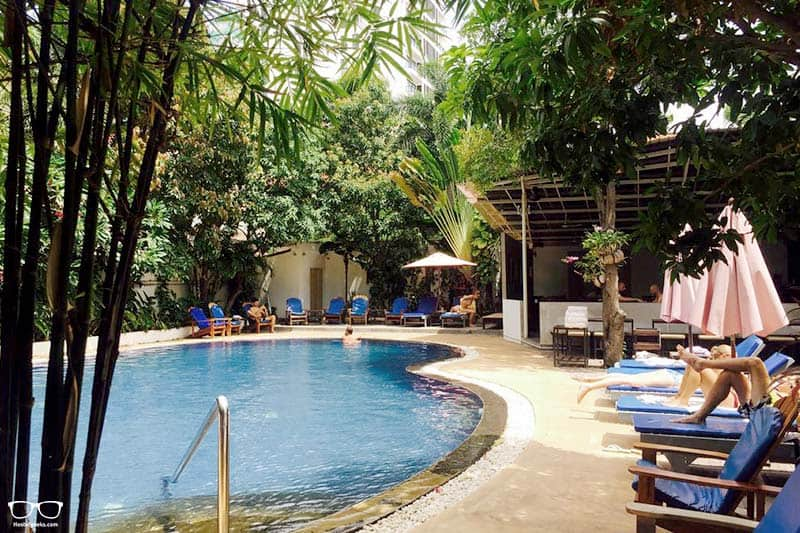 Billabong Hostel is one of the best party hostels in Phnom Penh, Cambodia