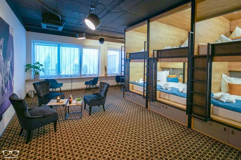 Boutique Capsule Hostel CHORS is one of the best hostels in Bratislava, Slovakia