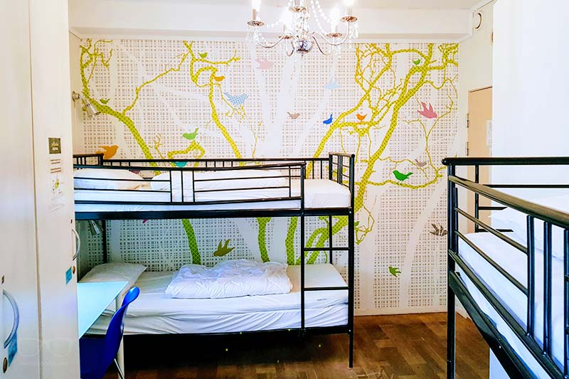 Cheapest Hostels in Bergen? Marken Guesthouse Dorm