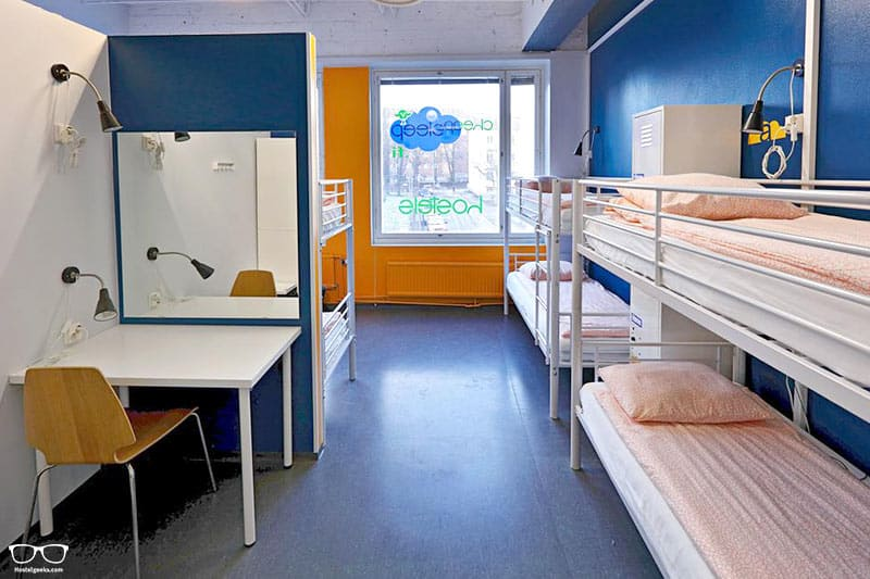 CheapSleep Helsinki is one of the best hostels in Helsinki, Finland