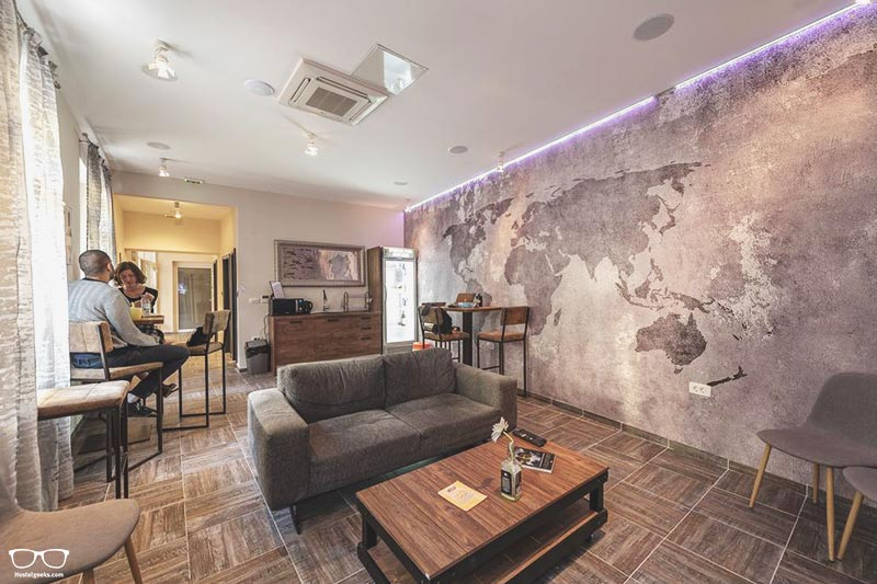 Downtown Boutique Hostel is one of the best hostels in Croatia, Europe