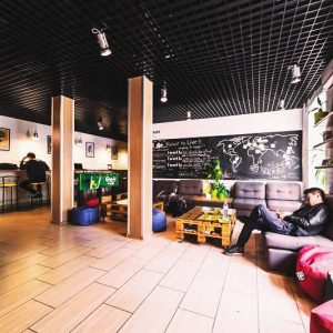 Enjoy the big common area at Dream House Hostel