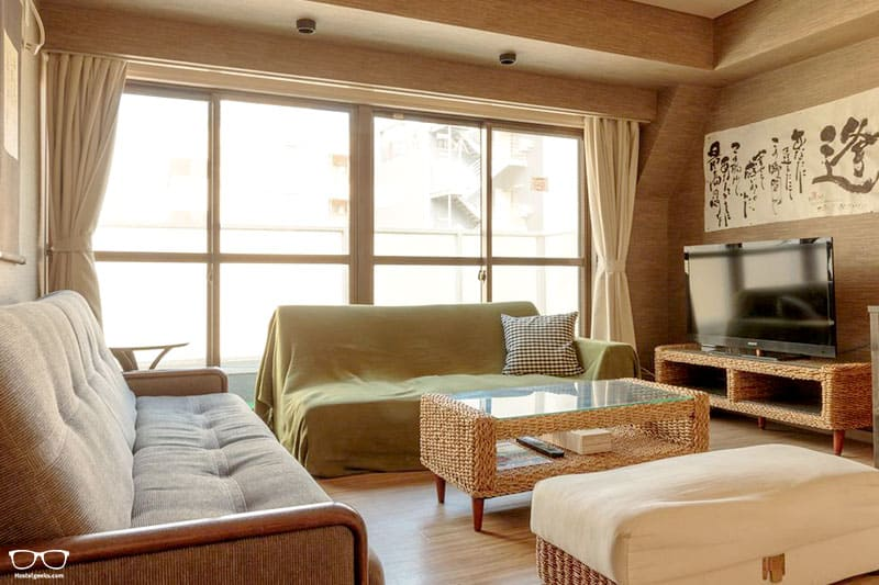 Hana Hostel is one of the best hostels in Osaka, Japan