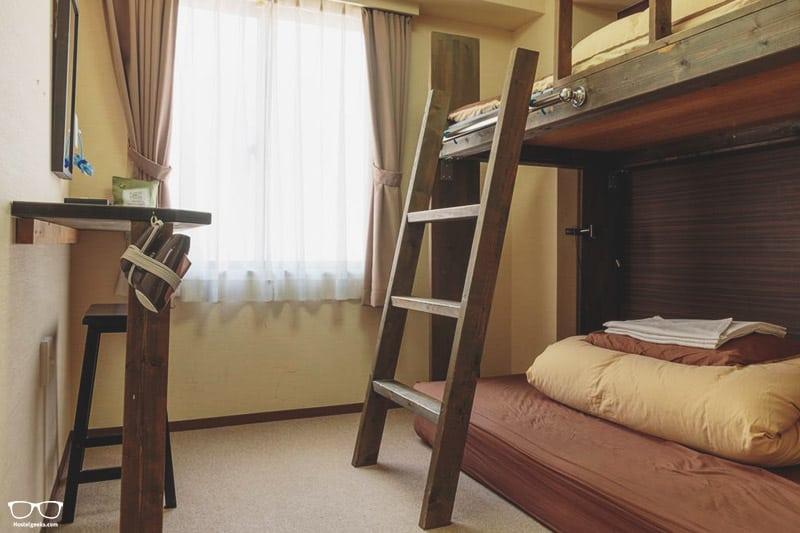 Hana Hostel is one of the best hostels in Osaka, Japan