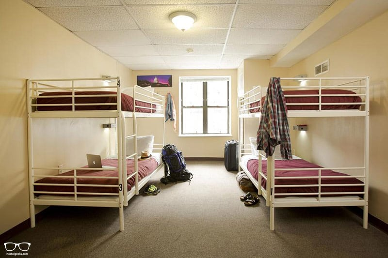 HI Washington DC is one of the best hostels in Washington DC, USA