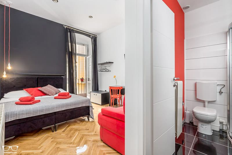 Hostel 1W is one of the best hostels in Croatia, Europe