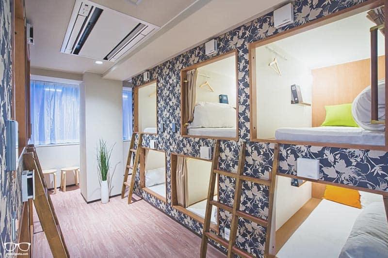 Hostel Yu is one of the best hostels in Osaka, Japan