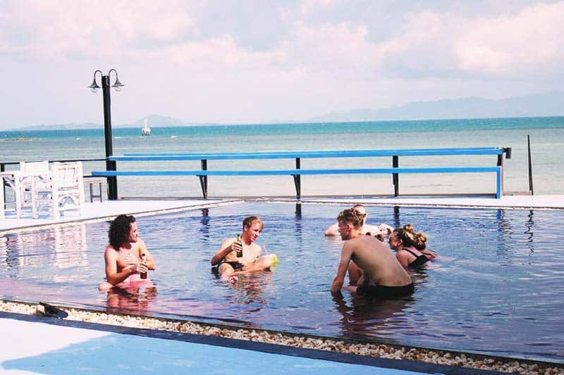 Il Mare Koh Phangan has a great sea view from the pool that you will surely love