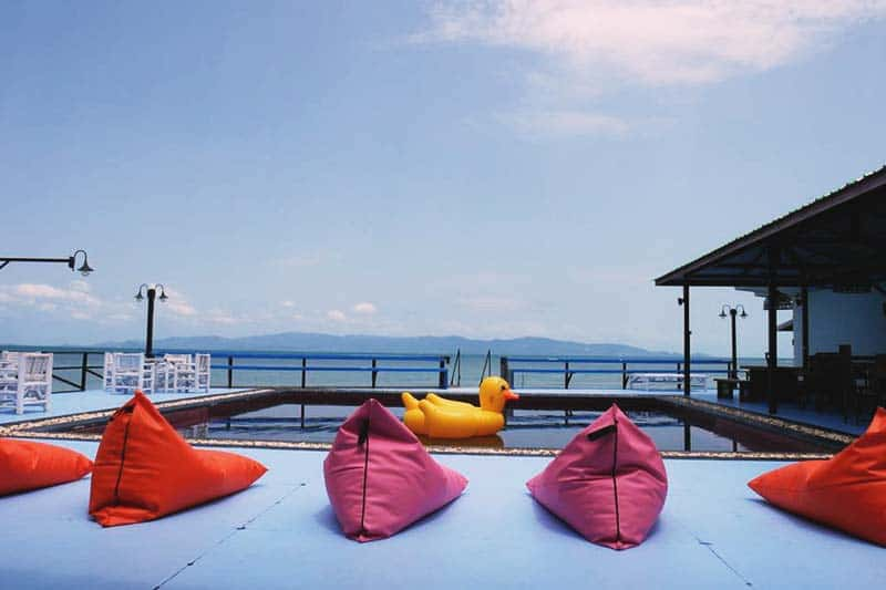 Lay back and get your tan lines at Il Mare Koh Phangan Hostel