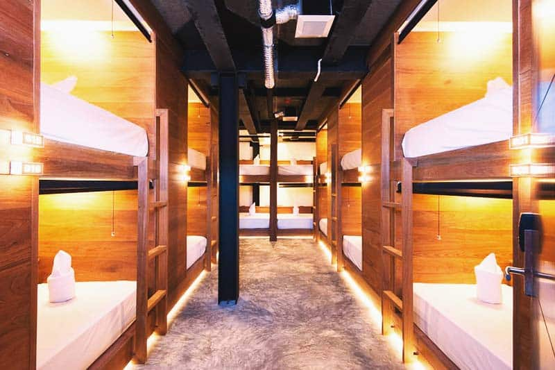 Enjoy comfy beds and cozy rooms at Indie Hostel
