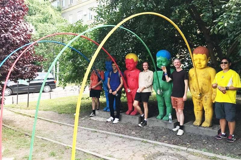 Have a fun-tastic tour with Kiev Central Station Hostel