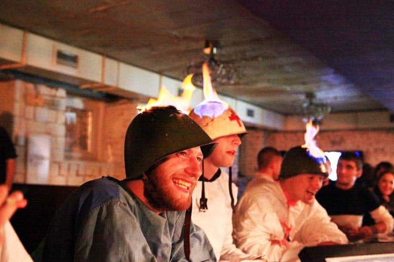 You'll definitely love the drinking sessions at Kiev Central Station Hostel