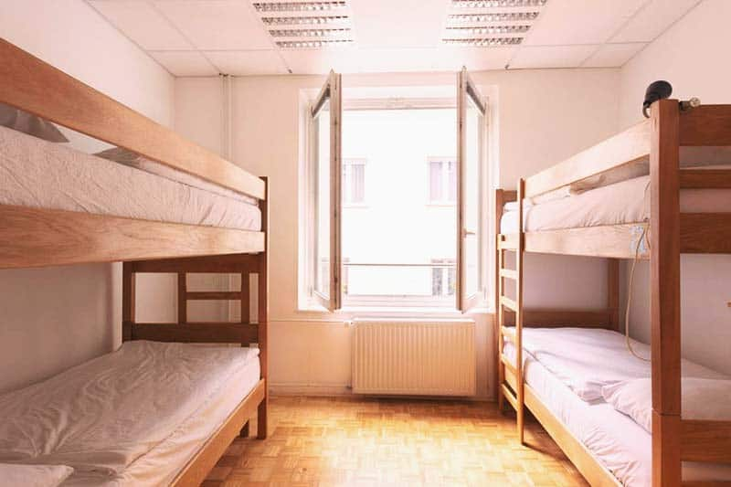 Rooms are extra big and comfy at KVA Hostel