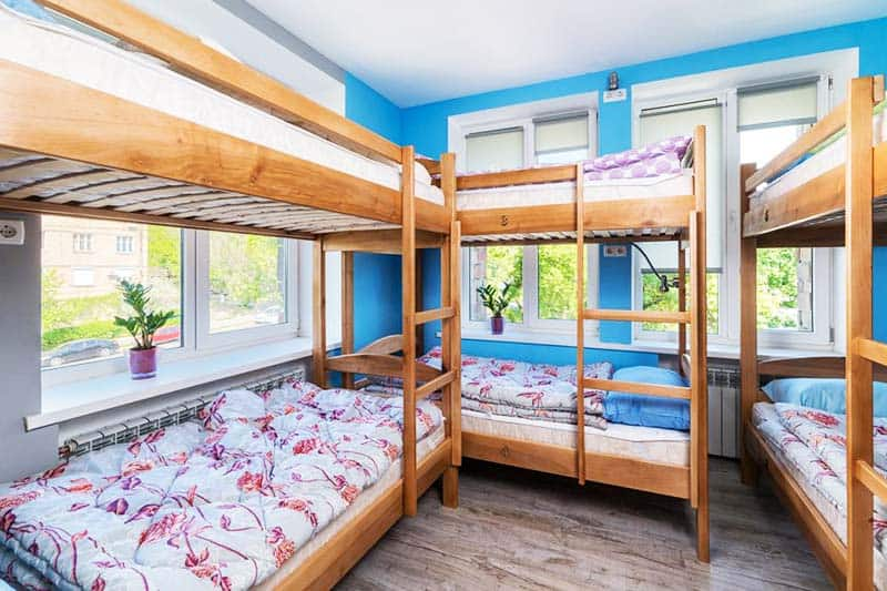 Comfy beds with your own electric outlet at Light Life Hostel