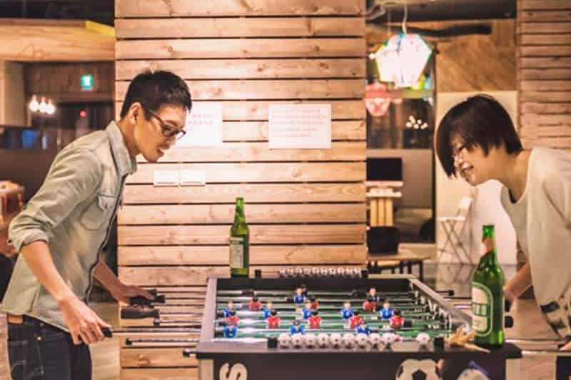 Enjoy your free time at Meander Taipei Hostel playroom