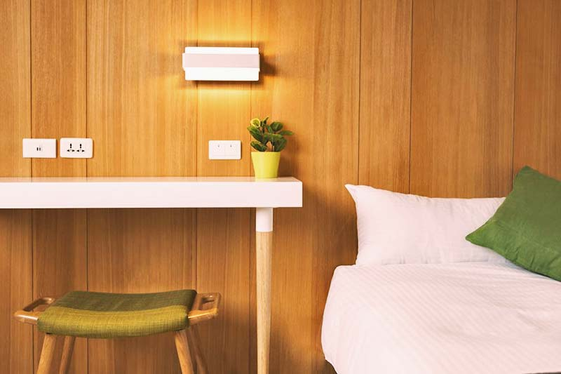 Soft and comfy beds are calling you at Meander Taipei Hostel
