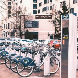 Bike rentals are available just outside KVA Hostel