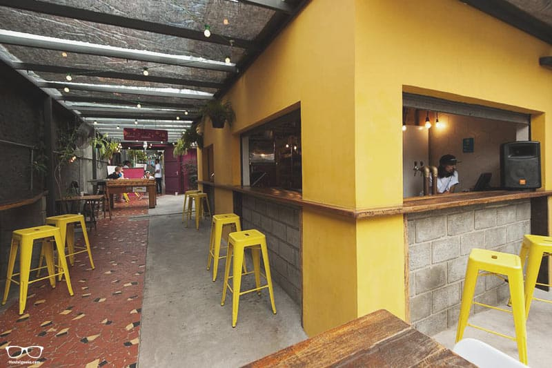 O de Casa Hostel Bar is one of the best hostels in Sao Paulo, Brazil
