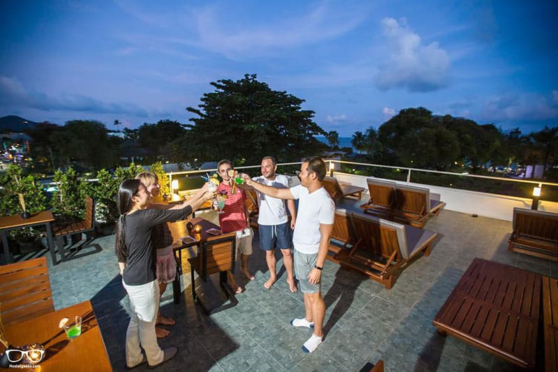 P168 Hostel is one of the best hostels in Koh Samui, Thailand